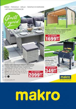 Gazetka promocyjna Makro Cash&Carry - Grill i ogród