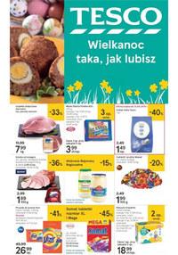 Gazetka promocyjna Tesco Hipermarket - Wielkanoc taka, jak lubisz - ważna do 20-04-2019