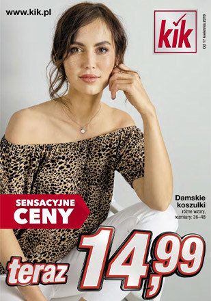Gazetka promocyjna KIK, ważna od 17.04.2019 do 30.04.2019.