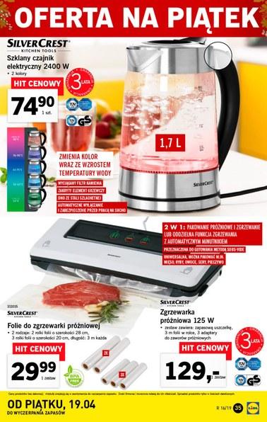 Gazetka promocyjna Lidl, ważna od 15.04.2019 do 20.04.2019.