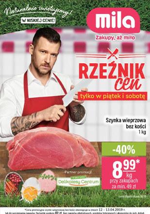 Gazetka promocyjna MILA, ważna od 10.04.2019 do 16.04.2019.