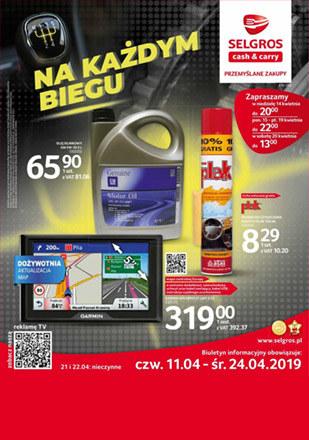 Gazetka promocyjna Selgros Cash&Carry, ważna od 11.04.2019 do 24.04.2019.