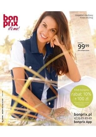 Gazetka promocyjna BonPrix, ważna od 08.04.2019 do 08.10.2019.