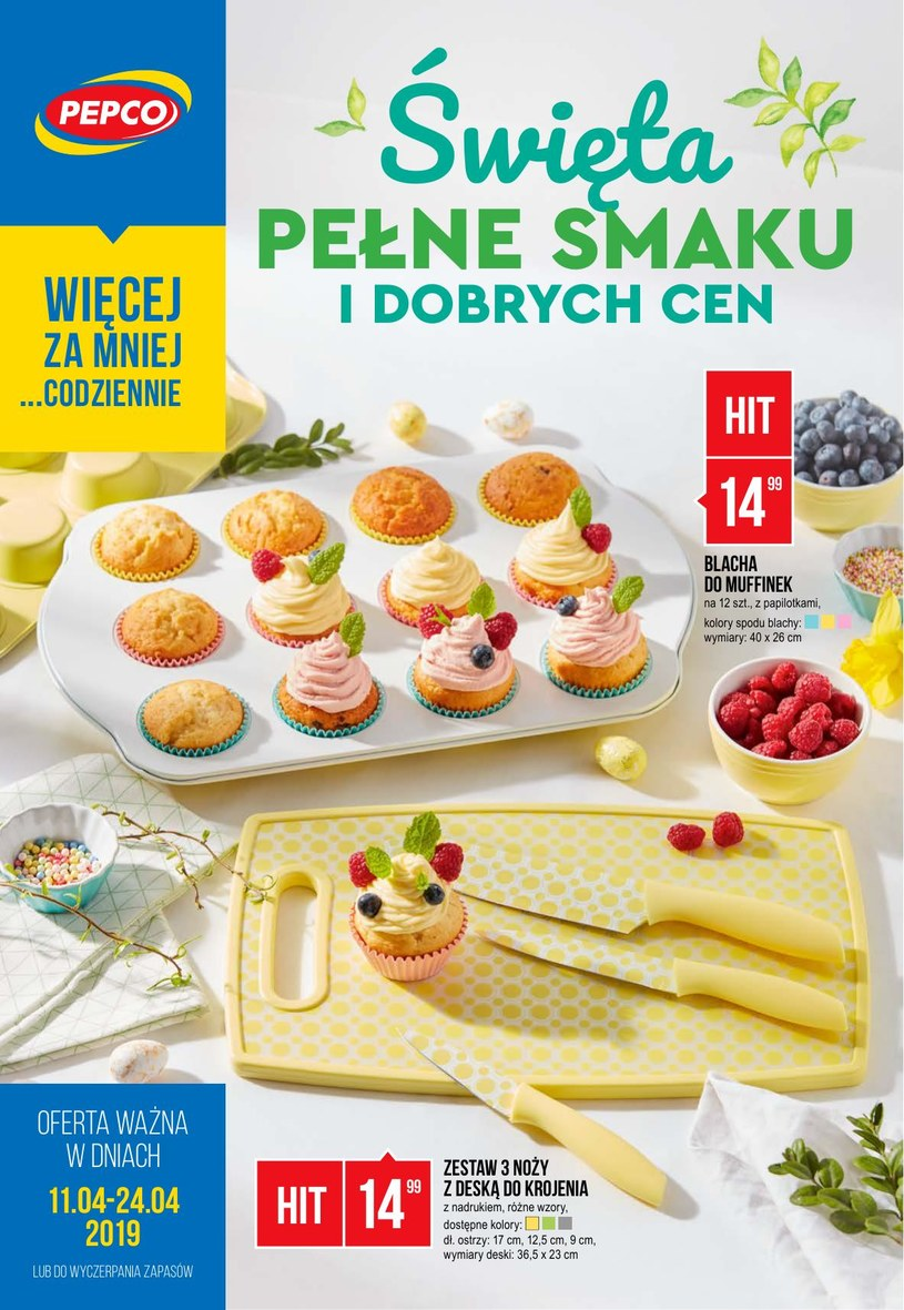 Gazetka promocyjna Pepco - ważna od 10. 04. 2019 do 24. 04. 2019