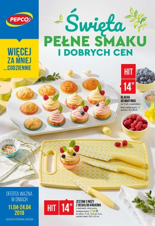 Gazetka promocyjna Pepco, ważna od 11.04.2019 do 24.04.2019.
