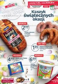 Gazetka promocyjna SPAR - Koszyk świątecznych okazji  - ważna do 20-04-2019