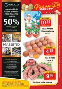 Gazetka promocyjna Gram Market - Gazetka promocyjna - ważna do 16-04-2019