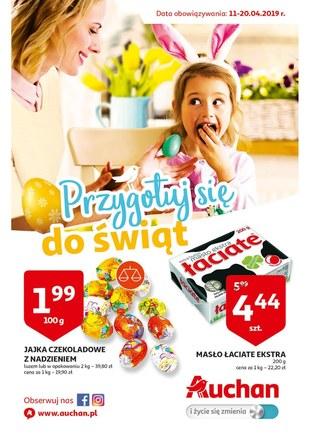 Gazetka promocyjna Auchan, ważna od 11.04.2019 do 20.04.2019.