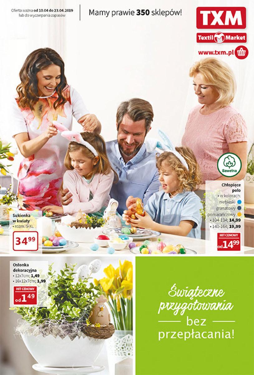 Gazetka promocyjna Textil Market - ważna od 09. 04. 2019 do 23. 04. 2019