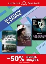 Gazetka promocyjna Księgarnie Świat Książki - - 50% drugiej książki - ważna do 30-04-2019