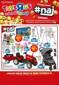 """Gazetka promocyjna Toys""""R""""Us - Poznaj nasze zabawki! - ważna do 16-04-2019"""