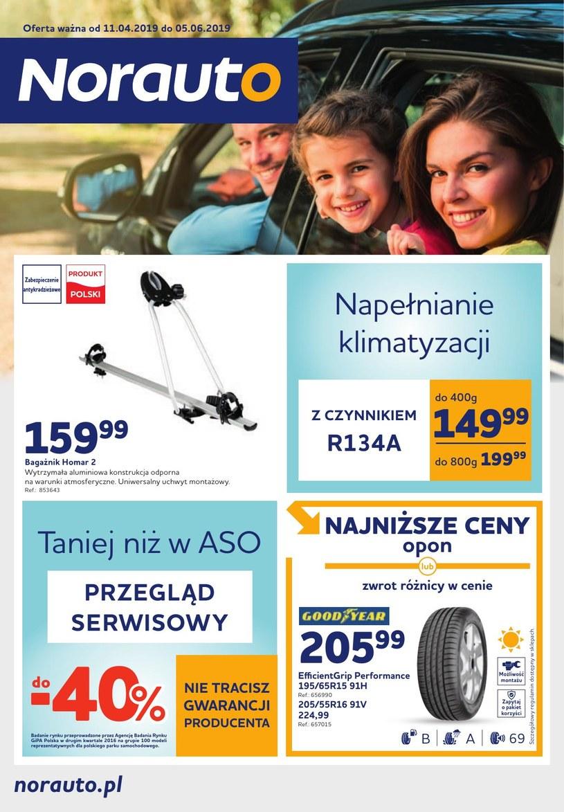 Gazetka promocyjna Norauto - ważna od 10. 04. 2019 do 05. 06. 2019