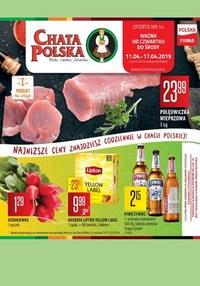 Gazetka promocyjna Chata Polska - Gazetka promocyjna - ważna do 17-04-2019