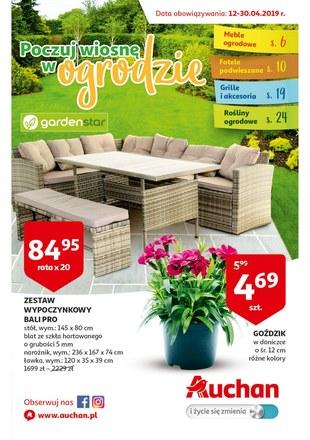 Gazetka promocyjna Auchan, ważna od 12.04.2019 do 30.04.2019.