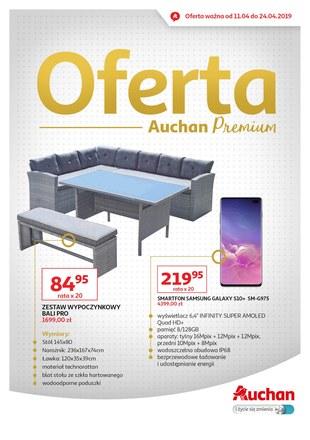 Gazetka promocyjna Auchan, ważna od 11.04.2019 do 24.04.2019.