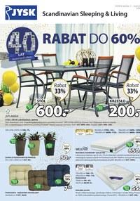 Gazetka promocyjna Jysk - Rabat do 60% - ważna do 24-04-2019