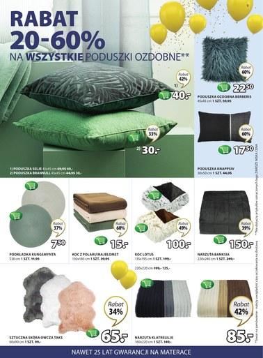 Gazetka promocyjna Jysk, ważna od 11.04.2019 do 24.04.2019.