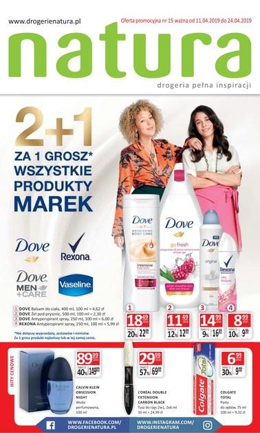 Gazetka promocyjna Drogerie Natura, ważna od 11.04.2019 do 24.04.2019.