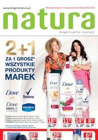 Gazetka promocyjna Drogerie Natura - Drogeria pełna inspiracji  - ważna do 24-04-2019