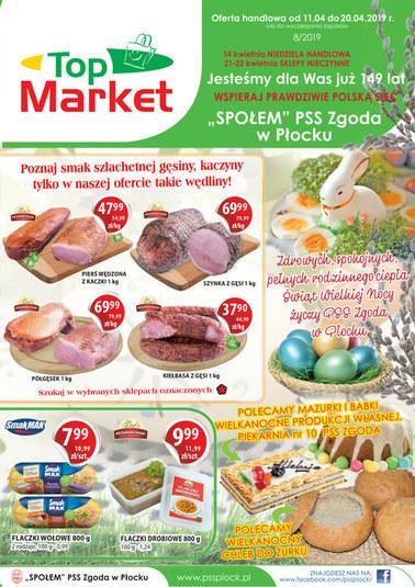Gazetka promocyjna PSS Zgoda Płock, ważna od 11.04.2019 do 20.04.2019.