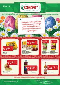 Gazetka promocyjna Delikatesy CEZAR - Oferta handlowa - ważna do 20-04-2019