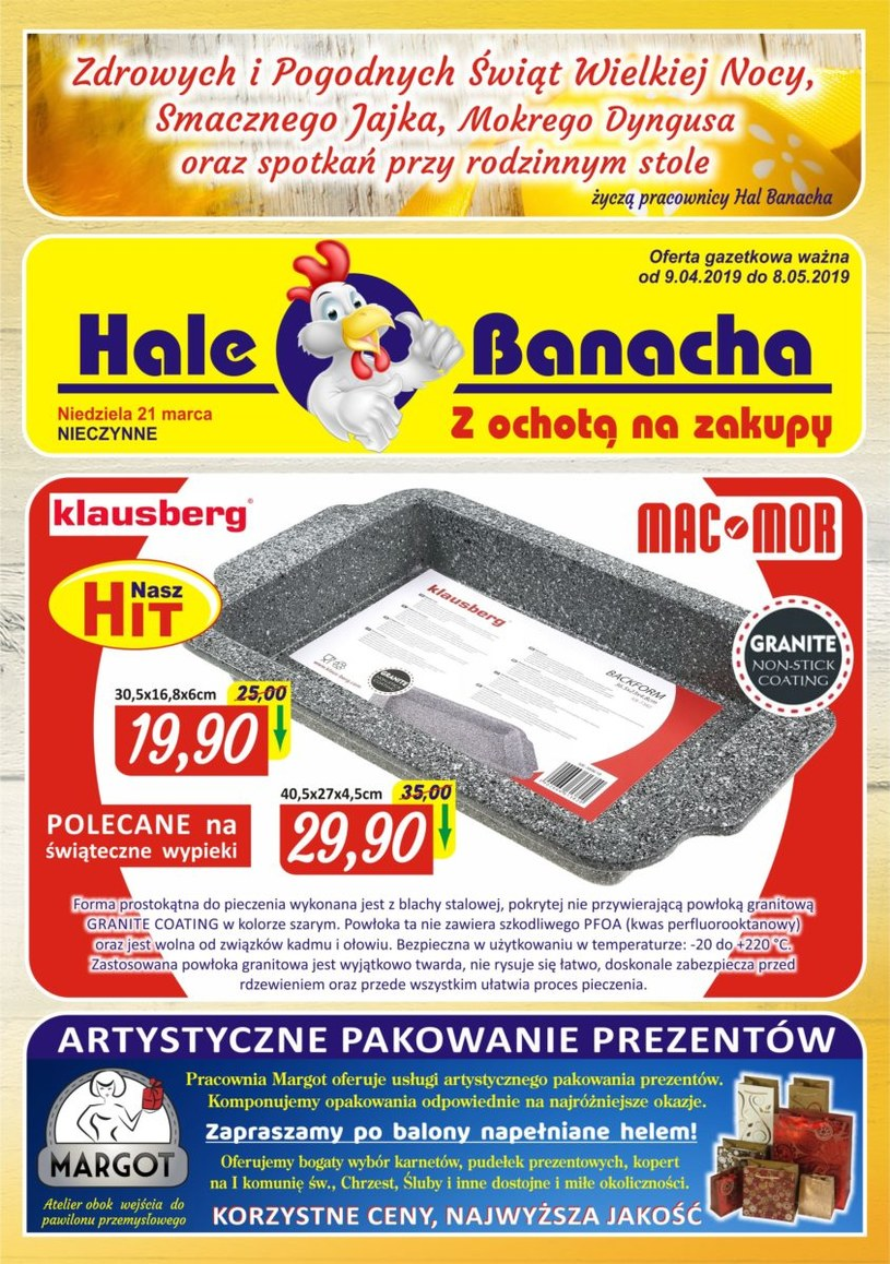Hala Banacha: 2 gazetki