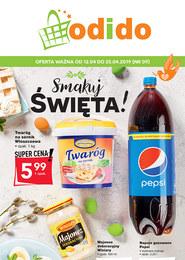 Gazetka promocyjna Odido - Smakuj swięta! - ważna do 25-04-2019
