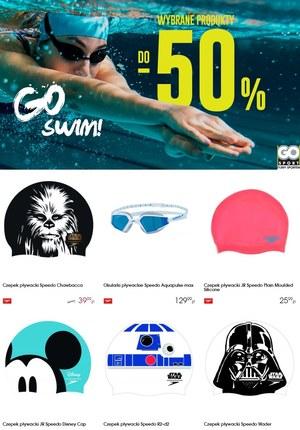 Gazetka promocyjna GO Sport - Go swim!