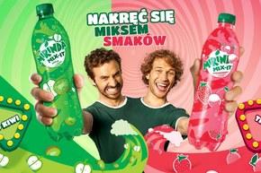 Nowa owocowa mieszanka napojów Mirinda!