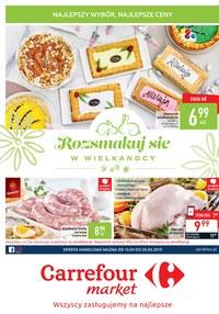 Gazetka promocyjna Carrefour Market - Gazetka promocyjna - ważna do 20-04-2019