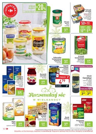 Gazetka promocyjna Carrefour Market, ważna od 15.04.2019 do 20.04.2019.