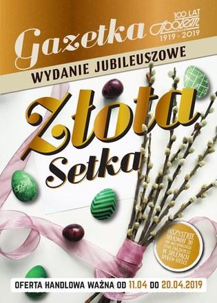 Gazetka promocyjna Społem Kielce, ważna od 11.04.2019 do 20.04.2019.