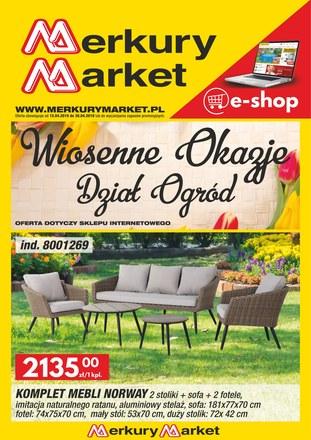 Gazetka promocyjna Merkury Market, ważna od 15.04.2019 do 30.04.2019.