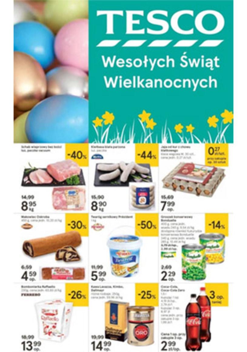 Gazetka promocyjna Tesco Hipermarket - ważna od 15. 04. 2019 do 20. 04. 2019