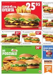 Gazetka promocyjna Burger King, ważna od 15.04.2019 do 01.07.2019.
