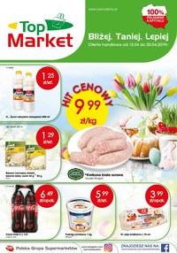Gazetka promocyjna Top Market - Gazetka promocyjna - ważna do 20-04-2019
