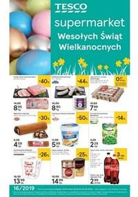 Gazetka promocyjna Tesco Supermarket - Wesołych Świąt Wielkanocnych - ważna do 20-04-2019