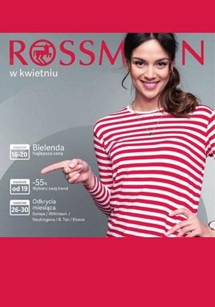 Gazetka promocyjna Rossmann, ważna od 16.04.2019 do 30.04.2019.
