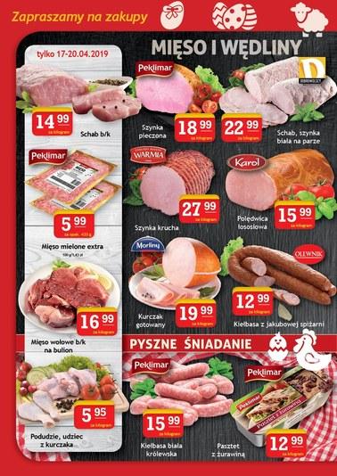 Gazetka promocyjna Gram Market, ważna od 17.04.2019 do 23.04.2019.