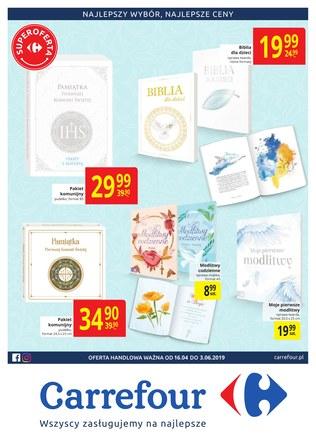 Gazetka promocyjna Carrefour, ważna od 16.04.2019 do 03.06.2019.