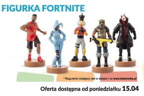 Figurki Fortnite w Biedronce!