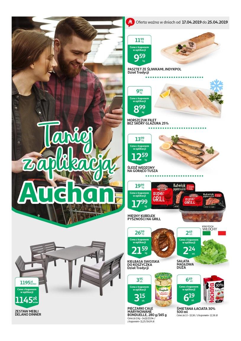 Gazetka promocyjna Auchan - ważna od 16. 04. 2019 do 24. 04. 2019
