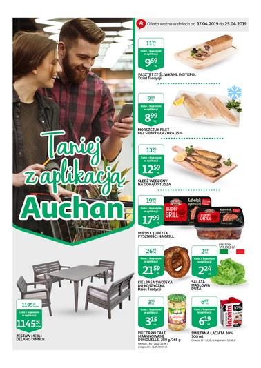 Gazetka promocyjna Auchan, ważna od 17.04.2019 do 24.04.2019.
