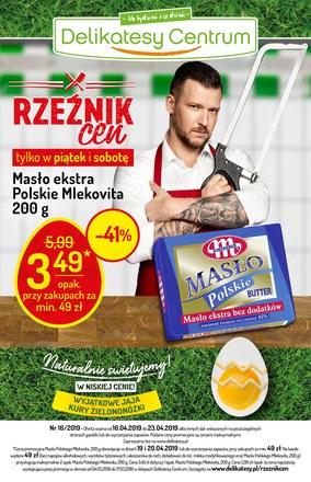 Gazetka promocyjna Delikatesy Centrum, ważna od 16.04.2019 do 23.04.2019.