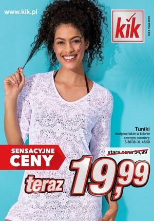 Gazetka promocyjna KIK - Ubranie kupione z głową