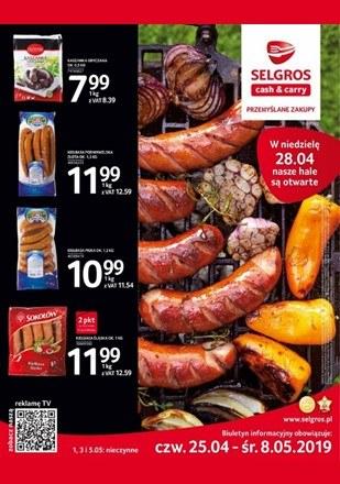 Gazetka promocyjna Selgros Cash&Carry, ważna od 25.04.2019 do 08.05.2019.