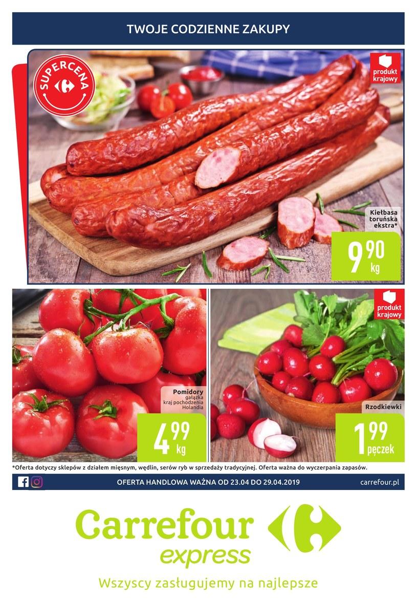 Gazetka promocyjna Carrefour Express - ważna od 22. 04. 2019 do 29. 04. 2019