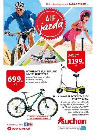 Gazetka promocyjna Auchan, ważna od 24.04.2019 do 07.05.2019.