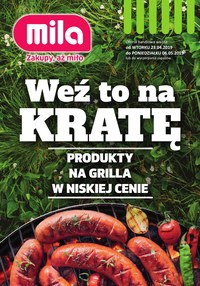 Gazetka promocyjna MILA - Katalog grillowy - ważna do 06-05-2019
