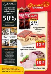 Gazetka promocyjna Gram Market - Gazetka promocyjna - ważna do 30-04-2019